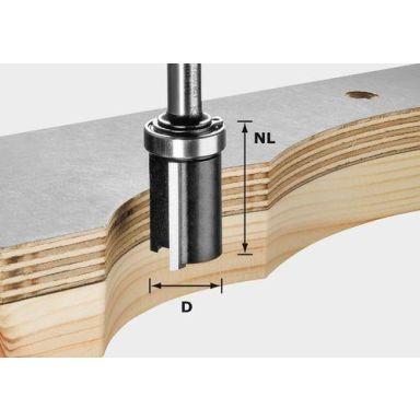 Festool HW S8 D19/NL25 Kantfräs 8mm spindel
