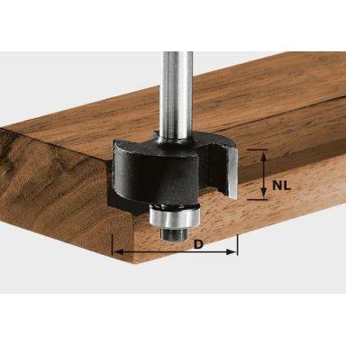 Festool HW S8 D31,7/NL 12,7 Falsfräs 8mm spindel