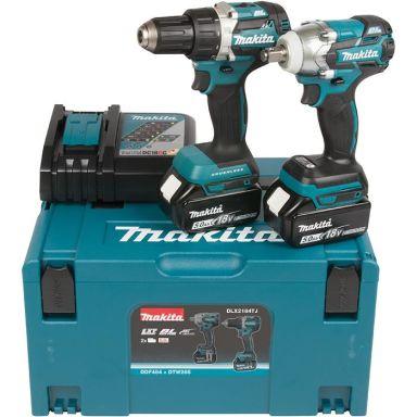 Makita DLX2184TJ Työkalupaketti