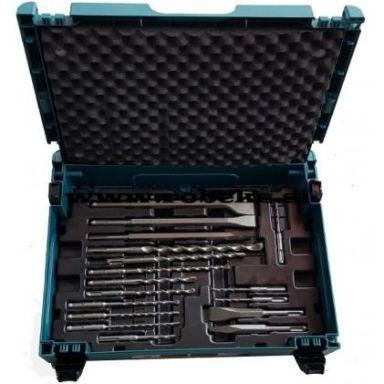 Makita B-52059 Bor- og meiselsett SDS-Plus, 17 deler
