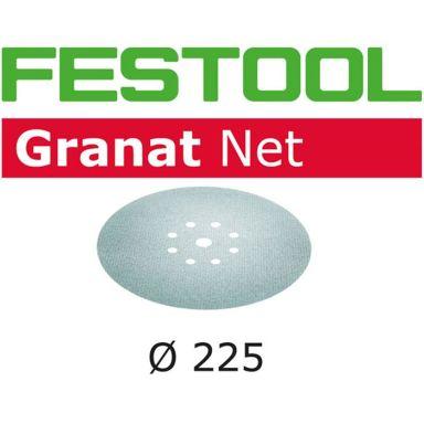 Festool STF D225 GR NET Hiomaverkko 225mm, 8-reikäinen, 25 kpl