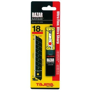 Tajima Razor Black Veitsiterä 10 kpl:n pakkaus