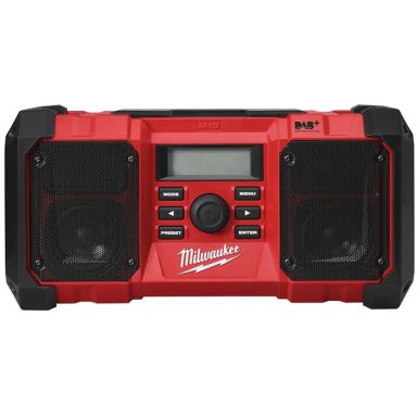 Milwaukee M18 JSR DAB+-0 Radio uten batterier og lader