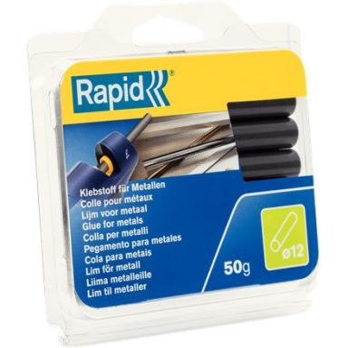 Rapid 40107352 Liimapuikot Metalli, 50 g,  Ø12x94 mm