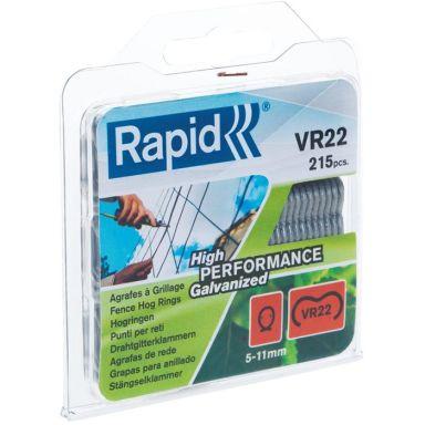 Rapid VR22 Rundklammer sølv