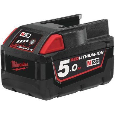 Milwaukee M28 B5 Li-Ion batteri 5,0Ah