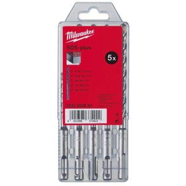 Milwaukee M2 4932352834 Vasaraporanteräsarja SDS-Plus, 2-särmäinen, 5 osaa