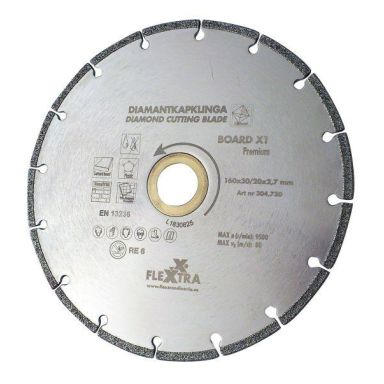 Flexxtra 304730 Diamantklinge 160 mm