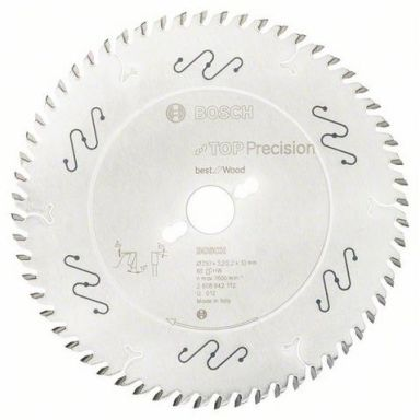 Bosch Top Precision Best for Wood Sahanterä 60T