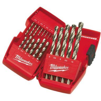 Milwaukee HSS-Thunderweb 4932352374 Poranteräsarja 19 osaa