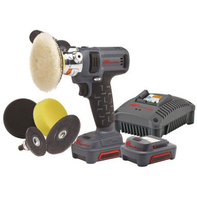 Ingersoll Rand G1621-K2 Slipmaskin med 2,0Ah batterier och laddare