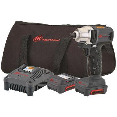 Ingersoll Rand W1130EU-K Muttertrekker med 2,0Ah-batterier og lader