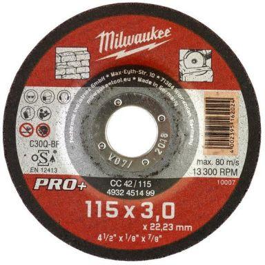 Milwaukee CC 42 PRO+ Kappskive