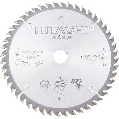 HiKOKI 60355034 Sagklinge 165x1, 6x20mm, 48T
