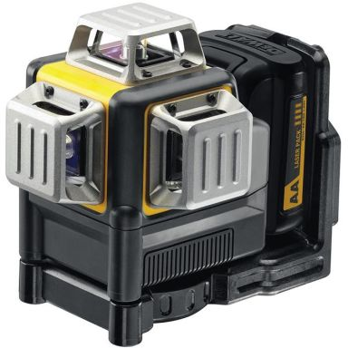 Dewalt DCE089LR Korslaser med alkaliska AA-batterier