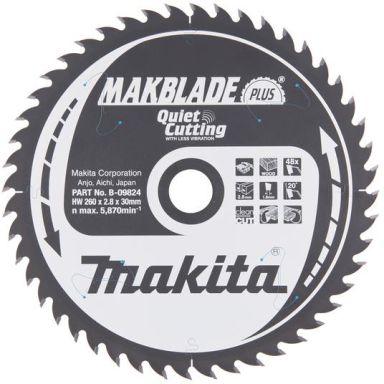 Makita B-09824 Sahanterä 260x30mm, 48T