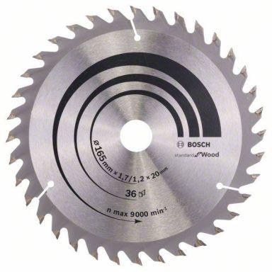 Bosch 2608642602 Optiline Wood Sahanterä 165x1,7x20mm, 36T