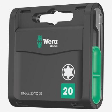 Wera Classic TX20 Bits 20-pakning