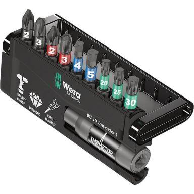 Wera Bit-Safe Impaktor 057680 Bitssett 10 deler