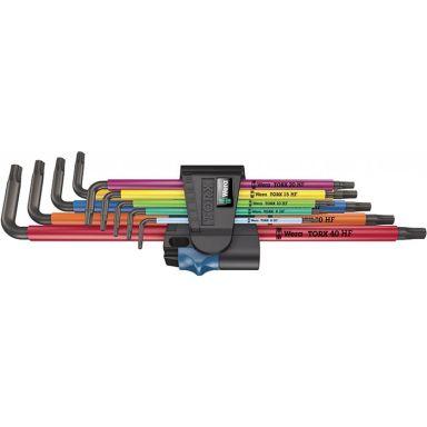 Wera 967/9 XL Multicolour HF Insexnyckelsats