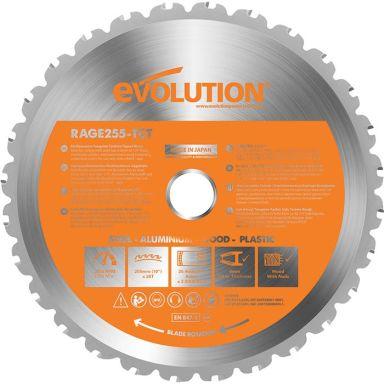 Evolution EVR255S Sahanterä 255x2,0x25,4 mm