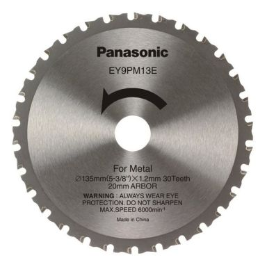 Panasonic EY9PM13E Sagklinge 135x1,2x20mm, 30T