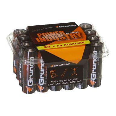 Grunda 0236-00208 Alkalisk batteri 24-pakning