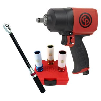 """Chicago Pneumatic CP7749 + CP8915 + SS413WP Däckbytarpaket 1/2"""""""