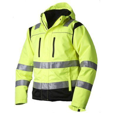 Vidar Workwear V40091506 Vinterjakke gul/svart