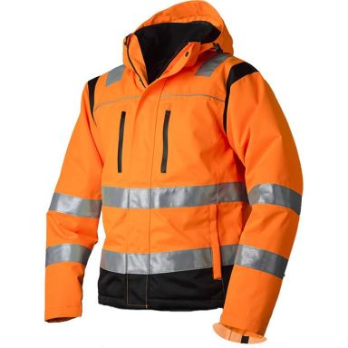 Vidar Workwear V40092505 Vinterjacka orange/svart