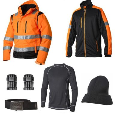 Vidar Workwear Orange Vinterpaket