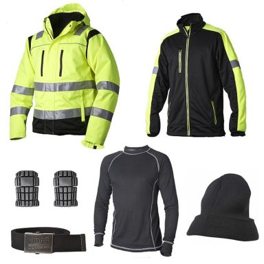 Vidar Workwear Gul Vinterpaket