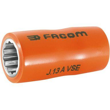 """Facom J.10AVSE Hylsa 3/8"""", 10mm, 12k, 1000V"""