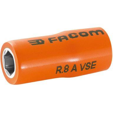 "Facom R.8AVSE Hylsa 8mm, 1/4"", 6k, 1000V"