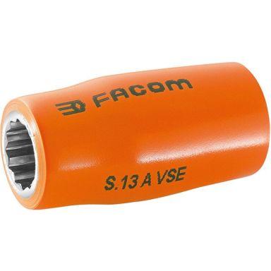 "Facom S.12AVSE Hylsa 12mm, 1/2"", 12k, 1000V"