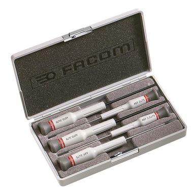 Facom AEF.J5 Skruvmejselsats Micro-Tech, 5 delar