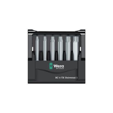 Wera Bit-Check Bitssats 6 delar