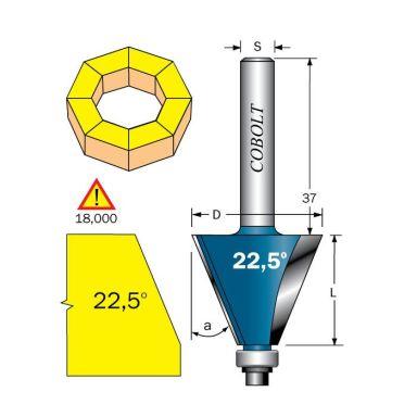 Cobolt 208-225B Fasfräs F=28