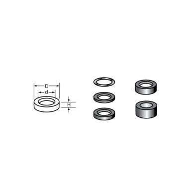 Cobolt 12801 Shims 12,5x8x0,1mm