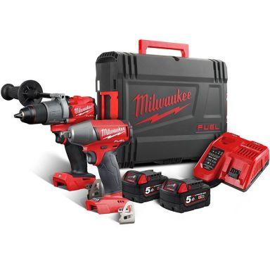Milwaukee M18 FPP2C2-502X Työkalupaketti
