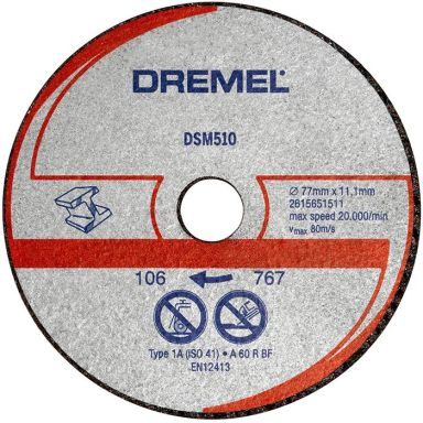Dremel DSM510 Katkaisulaikka