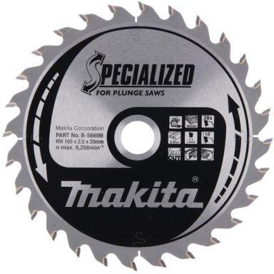 Makita B-56699 Sågklinga 165x20 mm, 28T