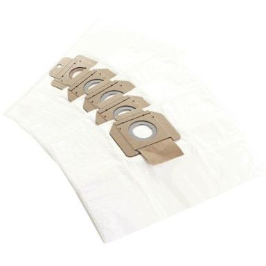 Makita W107418353 Dammsugarpåse Fleece, 5-pack