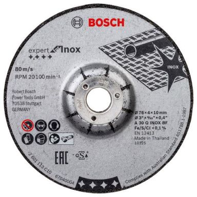 Bosch Expert for INOX Hiomalaikka 2 kpl:n pakkaus