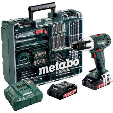 Metabo SB 18 LT Set Iskuporakone sis. lisäosasarjan, akut ja laturin