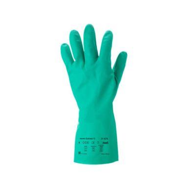 Ansell Solvex Plus 37-675 Hanske størrelse 7, kjemikalie, nitril