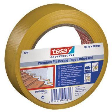 Tesa 4840 Rappausteippi 33 m x 50 mm, keltainen, erittäin vahva