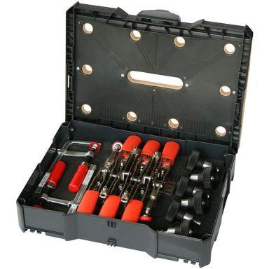 Bessey STC-S-MFT Snabbspännsystainer med spännverktyg