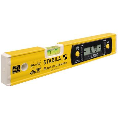 Stabila 80 A Vattenpass digitalt, 30 cm