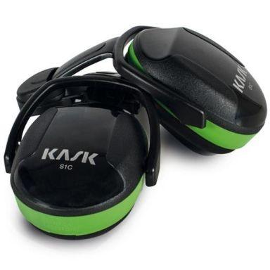 KASK SC1 Hørselvern grønn, lav demping
